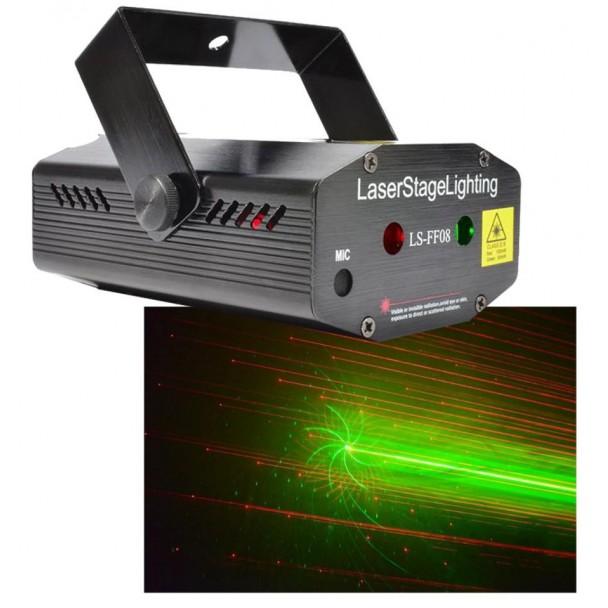 Beamz LS-FF08 Mini Laser Gobo