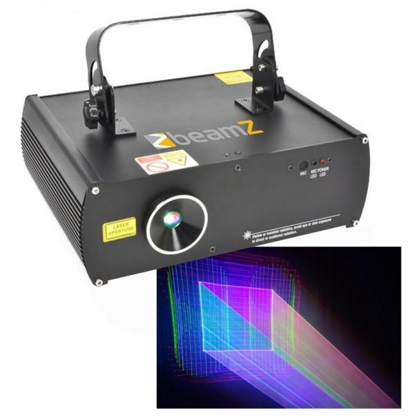 Beamz LS-3D RGB DMX