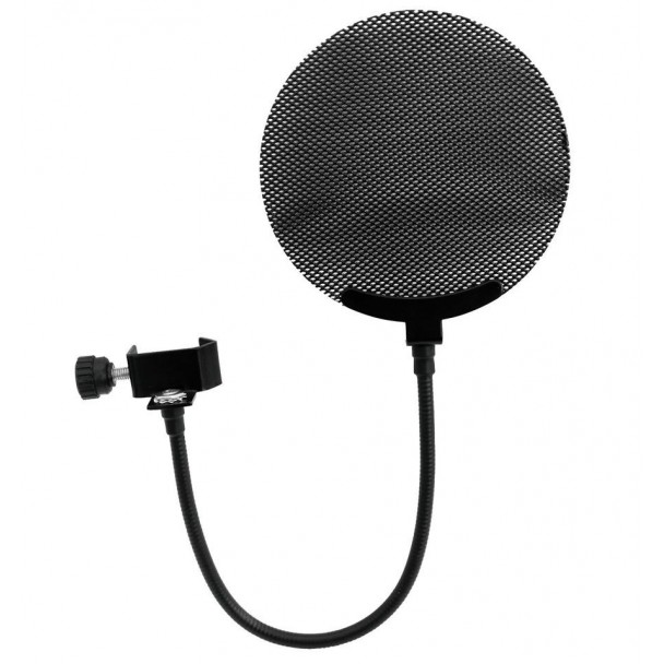 Omnitronic Microphone pop filter metal