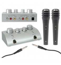 SkyTronic Karaoke Microphone Mixer