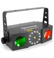 Beamz Terminator IV LED Double Moon cu laser si stroboscop