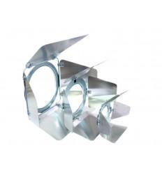 Eurolite Barndoors PAR-30 Spot Silver