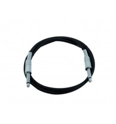 Omnitronic 6.3 plug to 6.3 plug 1.5m