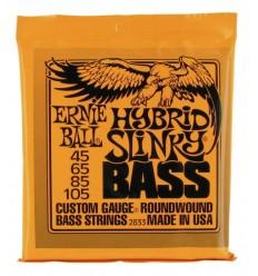 Ernie Ball 2833 Hybrid Slinky Bass Set 45/105
