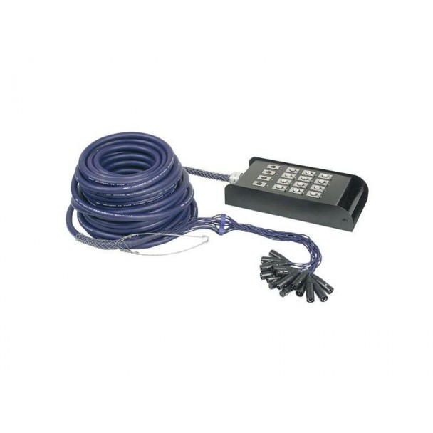 DAP Audio XLR Multisnake 12 in 4 out