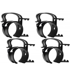Snap Mounting clamp black 4x