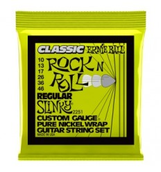 Ernie Ball 2251 PURE NICKEL REGULAR SLINKY 10-46