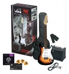 Incepator peste 11 ani/adult GewaPure VGS RC-100 - E-Guitar Pack
