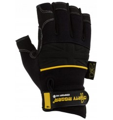 Dirty Rigger Comfort Fit Fingerless Rigger Glove (V1.6) L