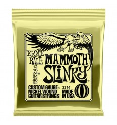 Ernie Ball 2214 Mammoth Slinky Nickel Wound 12-62