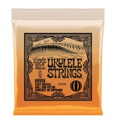 Ernie Ball 2329 Ukulele Ball End Nylon Strings Clear