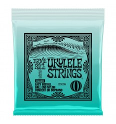 Ernie Ball 2326 Ukulele Ball End Nylon Strings Black