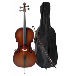 Classic Cantabile Student Cello 4/4 SET 12 ani/adult