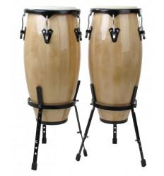 X Drum Conga Set Latin 10 11 Natural