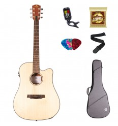 Prodipe Guitars Electro-Acustic Premium varsta peste 11 ani/adult Dreadnought