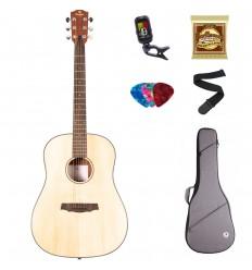 Prodipe Guitars SD29 Dreadnought SET 11 ani/adult