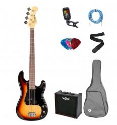 Prodipe Guitars Bass PB80RA SB SET 11 ani/adult PB
