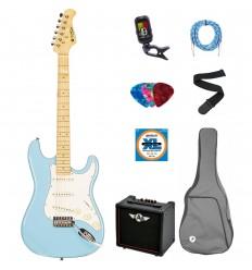 Prodipe Guitars Electric ST80MA BL SET 11 ani/adult