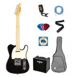 Prodipe Guitars Electric TC80MA BK SET 11 ani/adult