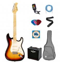 Prodipe Guitars Electric ST80MA SUNB SET 11 ani/adult