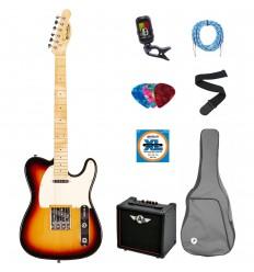 Prodipe Guitars Electric TC80MA SB SET 11 ani/adult
