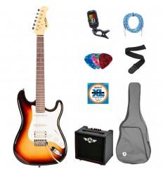 Prodipe Guitars Electric ST83RA SB SET 11 ani/adult
