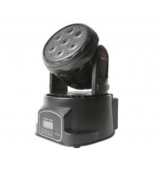 Fractal Lights MINI LED MOVING HEAD 7 x 10W