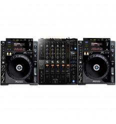 DJM 750 MK2 + 2 x CDJ 900 Nexus