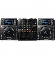 DJM 750 MK2 + 2 x XDJ 1000 MK2