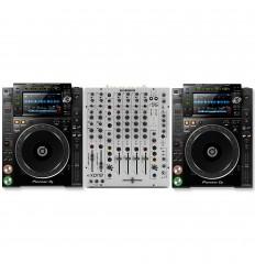 Xone 96 + 2 x CDJ 2000 NXS2