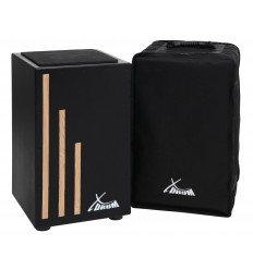 X Drum Cajon Primero Black with Bag