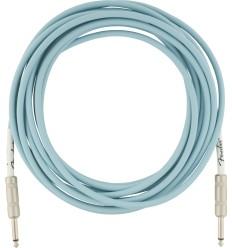 Fender Original Instrument Cable Daphne Blue 5,5m