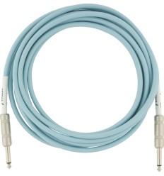 Fender Original Instrument Cable Daphne Blue 4,5m