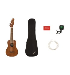 Fender Seaside Soprano Ukulele Pack NT