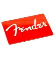 Fender FENDER RED LOGO MAGNET