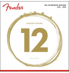 Fender 80/20 BRONZE ACOUSTIC STRINGS 12-52