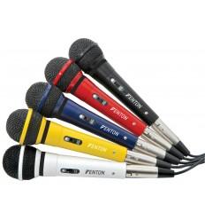 FENTON Microphone dynamic XLR lead