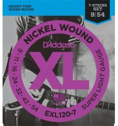 D-Addario EXL120-7