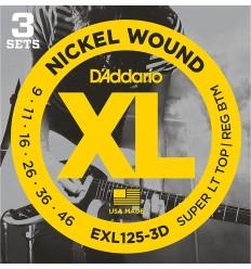 D-Addario EXL125-3D