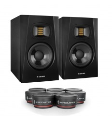 Adam Audio 2 x Adam T5V + IsoAcoustics ISO-PUCK mini