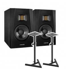 Adam Audio 2 x Adam T5V + stative Vonyx SMS20