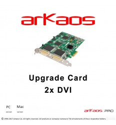 Arkaos Upgrade Card 2xDVI