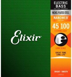 Elixir Nanoweb Light Bass 14052