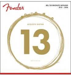 Fender 80/20 BRONZE ACOUSTIC STRINGS 13-56