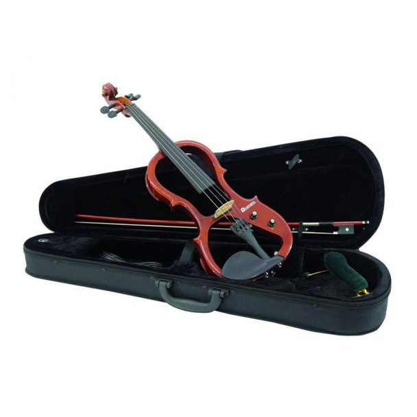 Dimavery E-Violin 4/4 with bow n