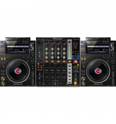 Pioneer 2 x CDJ-3000 + DJM 750 MK2