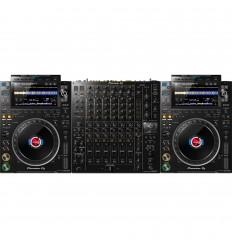 Pioneer 2 x CDJ-3000 + DJM V10