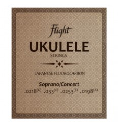 Flight FUSSC100 Ukulele Strings - Soprano/Concert