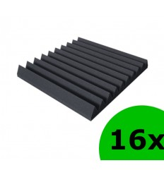 Mega Acoustic 16 x PMK 7 50x50 Negru