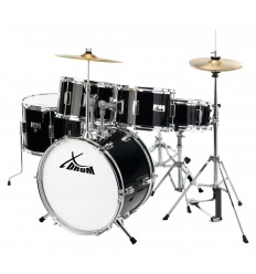 X Drum Junior Pro Kids Drum SET Black